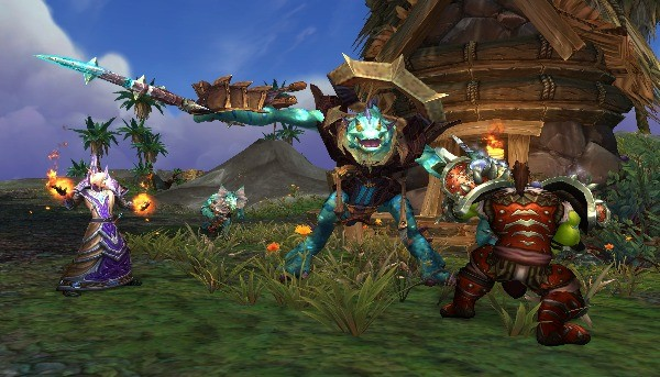 Exploring Uncharted Islands In World of Warcraft: Battle for