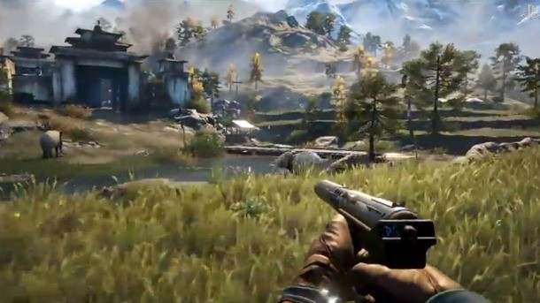 Far Cry 4 Floats Through Co Op Gameplay Demo On A Wingsuit