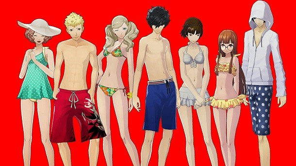 Free Swimsuit DLC Out Now For Persona 5 - Game Informer