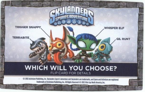 Frito-Lay Skylanders Promotion Kicks Off, Could Crush Dreams