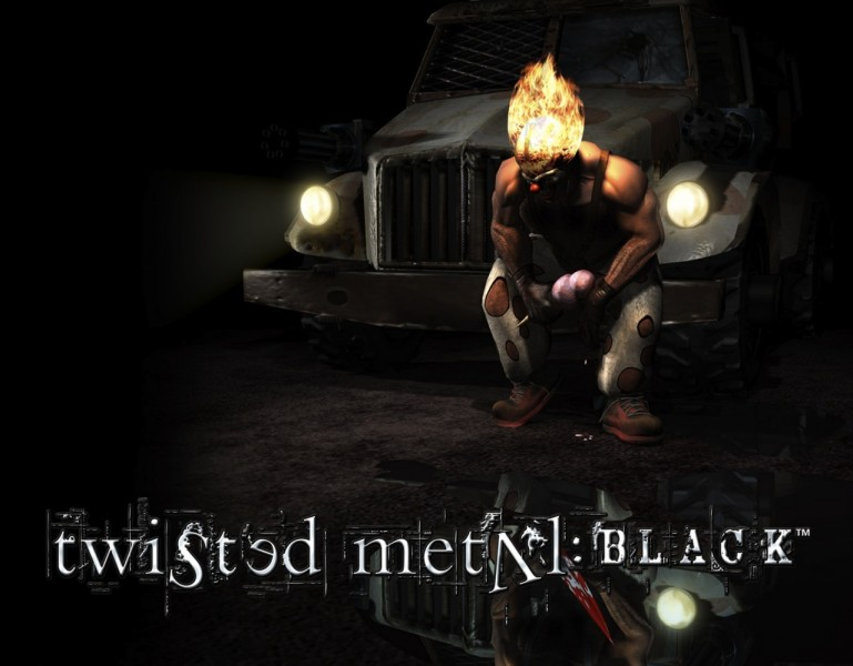 get a free downloadable copy of twisted metal black in the upcoming
