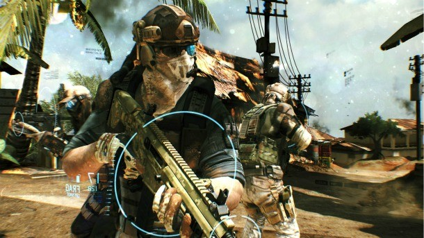ghost recon future soldier khyber strike gameplay