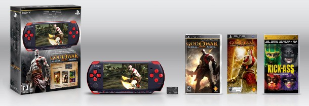 God of War: Ghost of Sparta Box Art, Limited Edition PSP