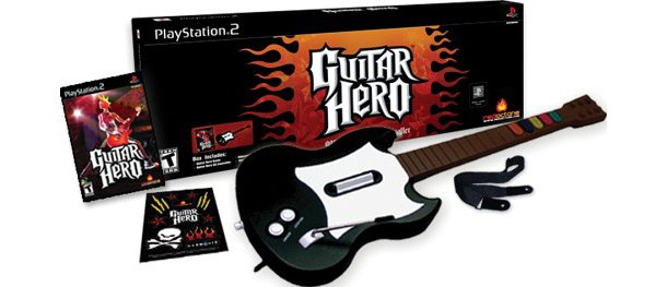 The Original Guitar Hero Bundled With Its Plastic Peripheral Released Today In 2005 Honor Of Occasion Weve Gathered Review Scores And