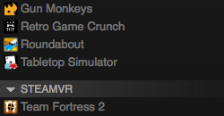 HTC Vive Games Start Showing Up In Steam Library - Game Informer