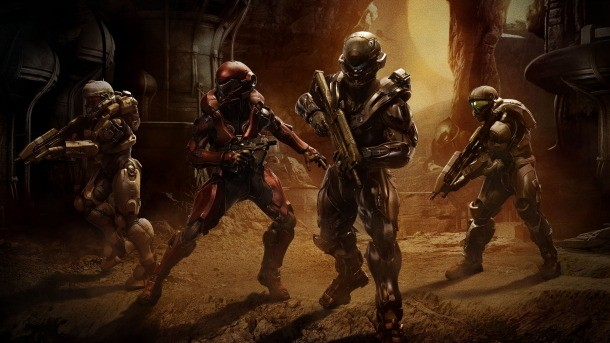 Halo 5 Guardians Unmasking The Fireteam Hunting Master Chief Game Informer