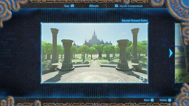 Here Are The Hidden Locations Of Zelda Breath Of The Wild S Memories Game Informer