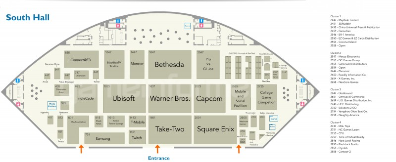 Here S How The E3 Floorplan Has Changed From 2015 To 2016 Game Informer