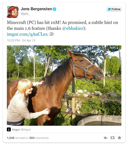 Horses Coming To Minecraft? - Game Informer