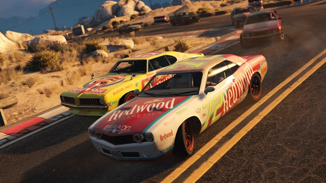 how to find grand theft auto v's first stock car race - game informer