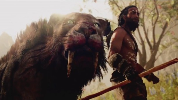 Far Cry Primal Story Trailer Features Huge Cats And Brutal Combat Game Informer