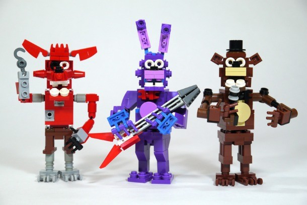 Learn How To Create Your Own Five Nights At Freddy's Lego