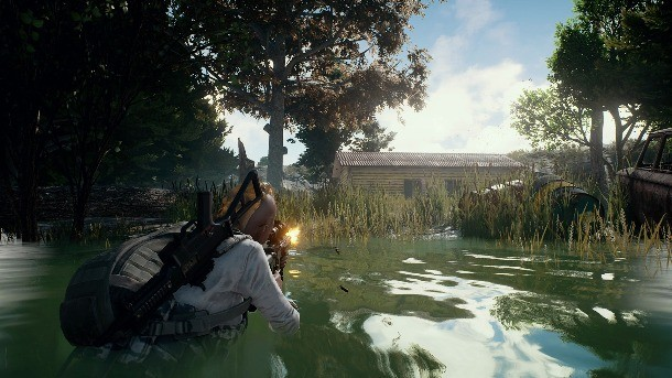 Playerunknown S Battlegrounds Pc Review Looting Shooting And Staying Alive Game Informer