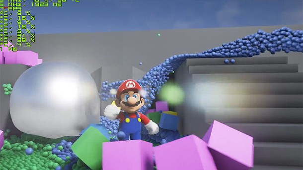 Mario Continues To Be Unreal Engine 4's Unofficial Spokesperson In