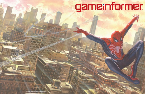 May Cover Revealed Spider Man Game Informer