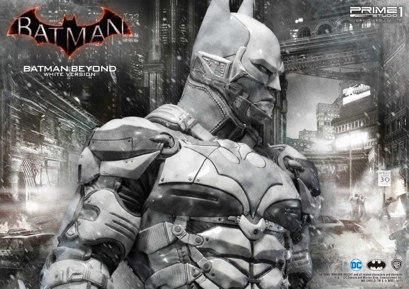 New 900 Batman Arkham Knight Statue Is Too Cool For Color Game