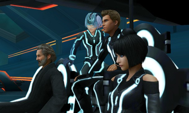Image result for Kingdom Hearts 3DS Tron