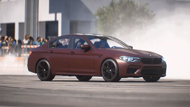 new need for speed payback trailer unveils the bmw m5. Black Bedroom Furniture Sets. Home Design Ideas
