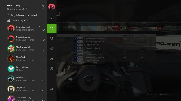 New Party Chat Features, Ability To Buy Xbox 360 Games, Game DVR