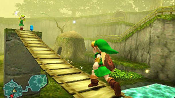 Ocarina update shines on 3ds game informer - Ocarina of time 3ds console ...