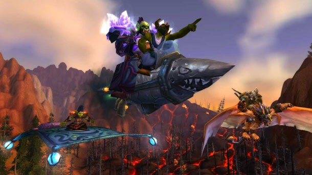 Peek At The Apocalypse With World of Warcraft: Cataclysm Screens