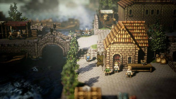 project octopath traveler details from nintendo direct demo today