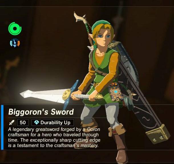 how to get biggoron sword breath of the wild