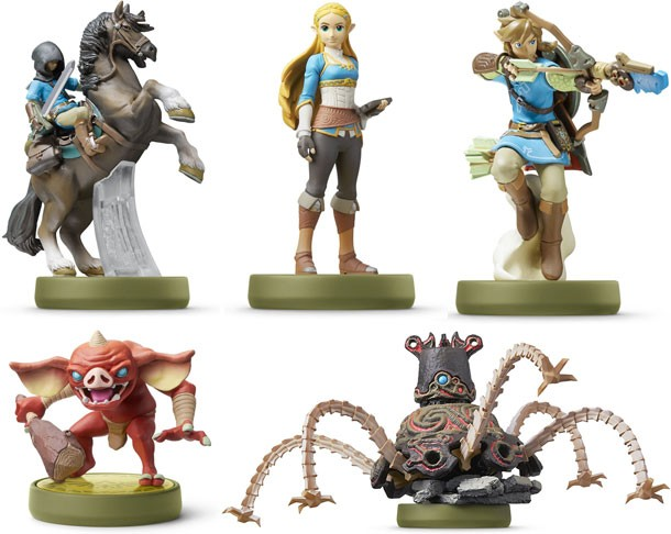Ranking The Legend Of Zelda: Breath Of The Wild's Best Amiibo