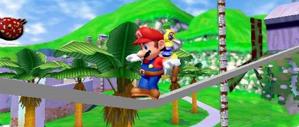 Replay Super Mario Sunshine Game Informer