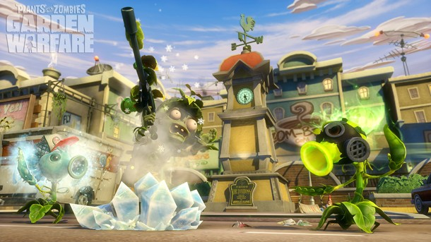 PopCap And Electronic Arts Have Never Definitively Said That Plants Vs.  Zombies: Garden Warfare Is A Permanent Xbox Exclusive, But This Is The  First ...