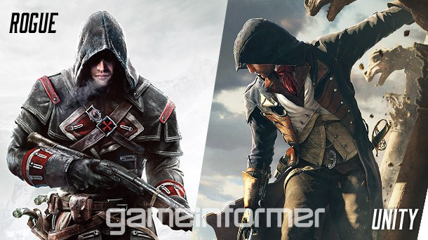 September Cover Revealed Assassin S Creed Rogue And Unity Game