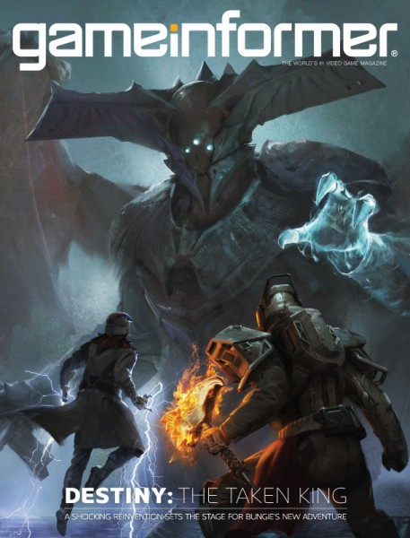 September Cover Revealed – Destiny: The Taken King - Game Informer