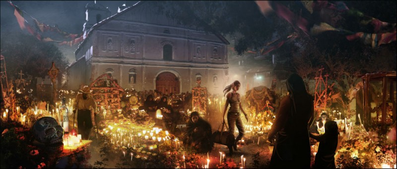 Shadow Of The Tomb Raider Concept Art: Shadow Of The Tomb Raider Concept Art Gallery