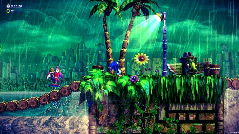 Sonic Fan Remix Impresses With Lush Visuals And Tight Controls