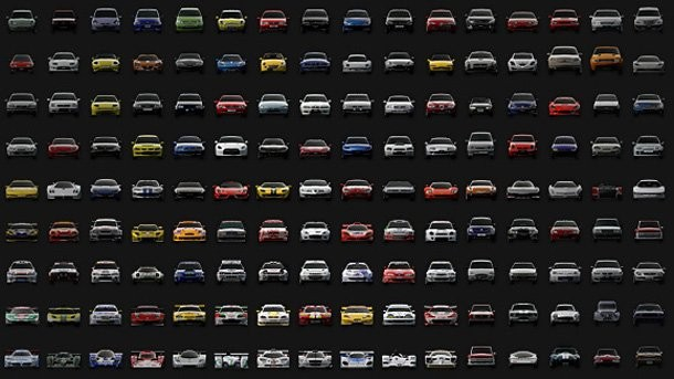 Sony Reveals Gran Turismo PSP's Massive Car Roster - Game