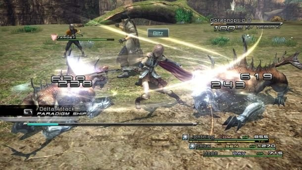 Final Fantasy Xiii Review Game Informer