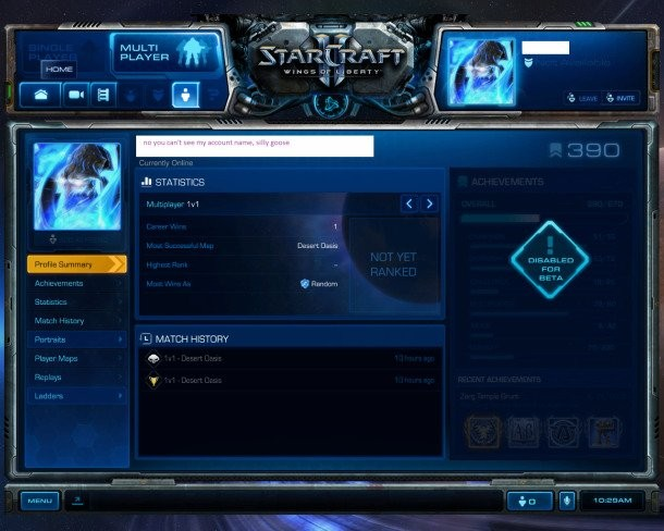 StarCraft II Beta Gives Clues For Battle net Revamp - Game