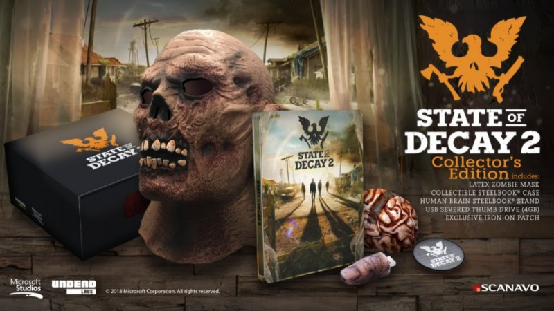 State Of Decay 2 Collector's Edition Announced, Doesn't Come