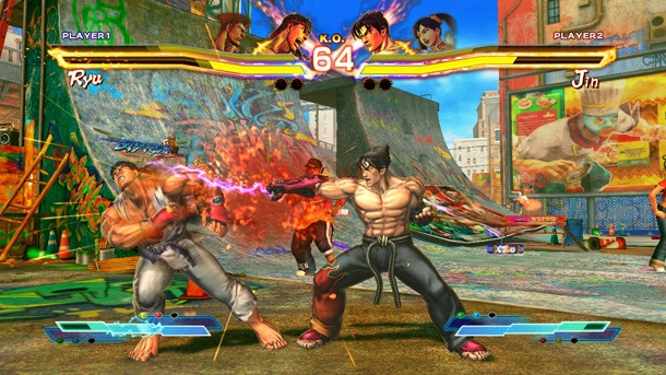 street fighter x tekken review more than just a mash up game informer