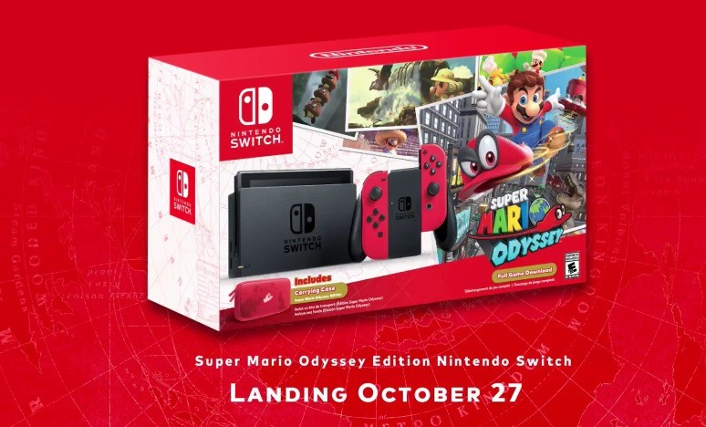 Super Mario Odyssey Edition Switch Coming In October Game