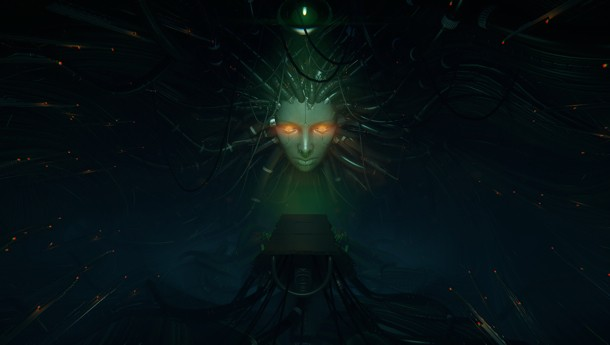 System Shock 2's Shodan Reveal Recreated In CryEngine 3