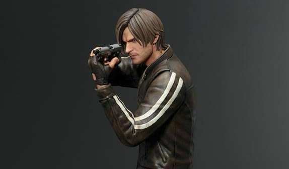 Take A Look At A New Leon Statue Based On Resident Evil Vendetta
