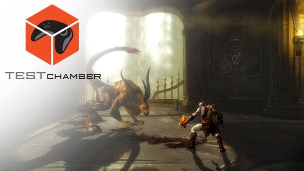 Test Chamber – God Of War III Remastered - Game Informer