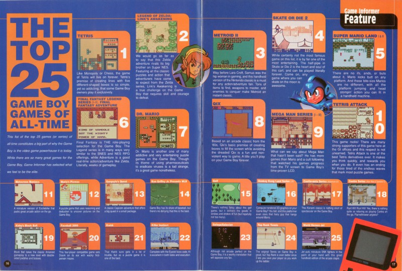 The 25 Best Game Boy Games Of All Time - Game Informer