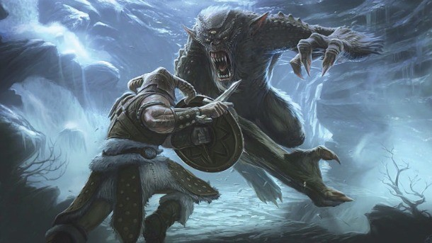 The Dovahkiin Is Reborn In This Art Of Skyrim Video - Game