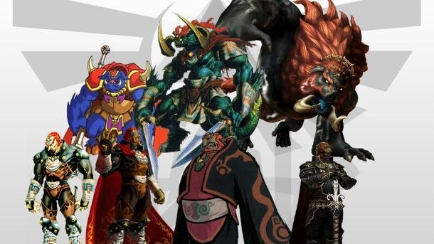 The Evolution Of Ganon Game Informer