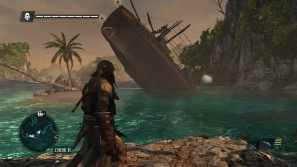 The Jackdaw In Assassin S Creed Iv Has Amazing Glitches Game