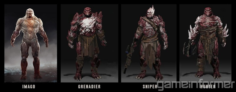 The Weapons And Enemies Of Gears Of War 4 - Game Informer