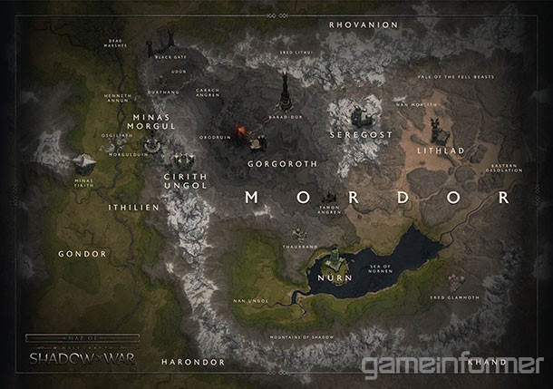Touring The Massive Regions Of Shadow Of War - Game Informer