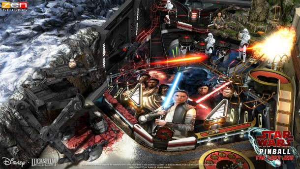 Two Star Wars: The Last Jedi Tables Coming To Pinball FX3